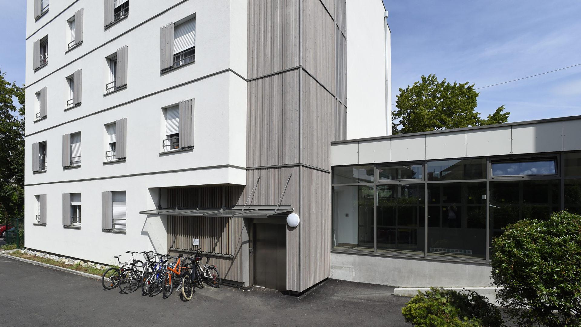 Bri re architectes le boutae for Jeune architecte