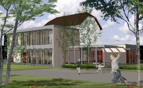 Ecole des Moulins, Brière Architectes
