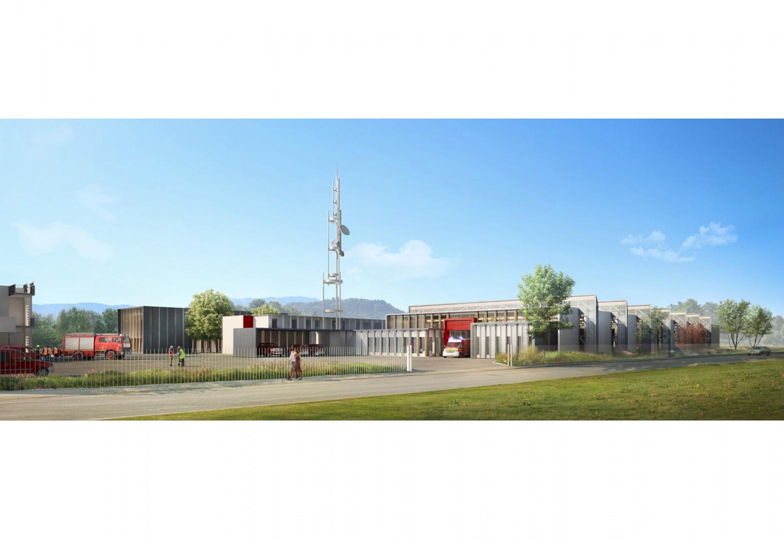 Centre de Secours Principal, Brière Architectes