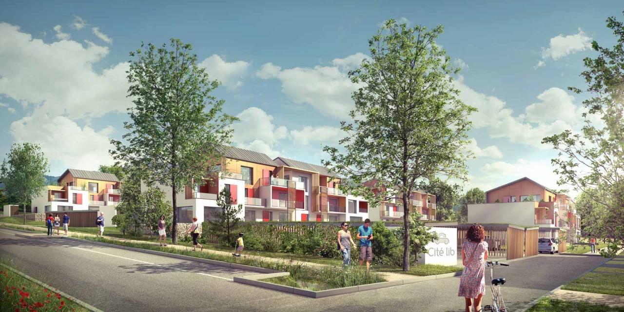 Eco Quartier les Rigoles, Brière Architectes