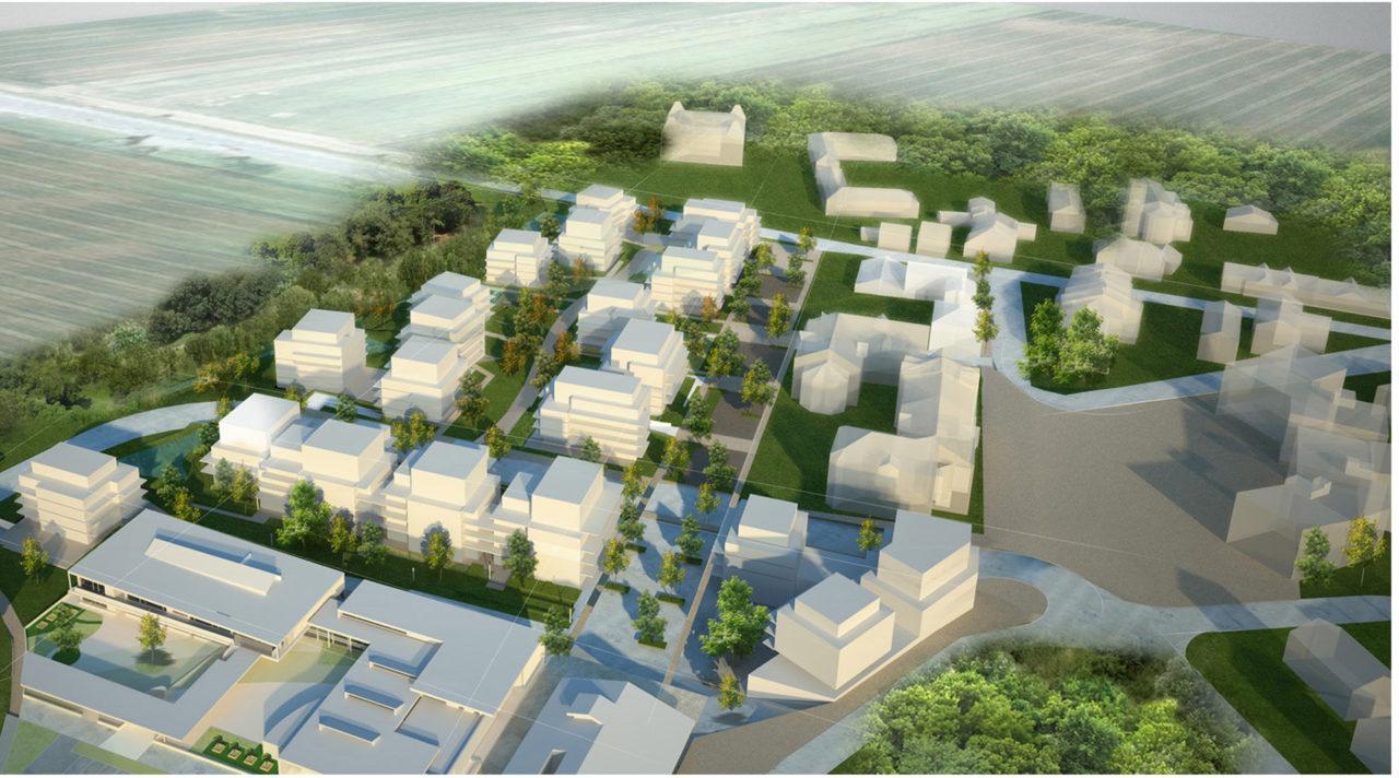 Eco Quartier de Viry, Brière Architectes
