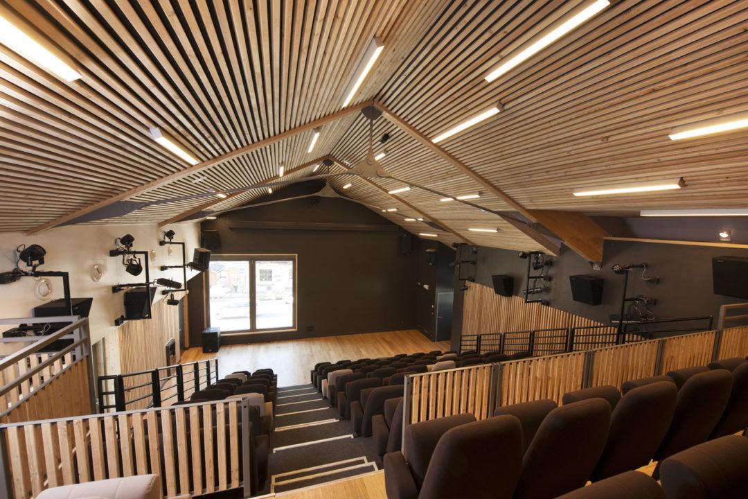 Salle d'animation, Brière Architectes